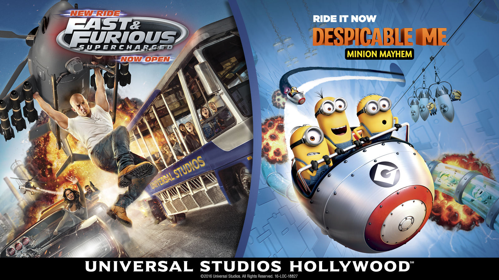 Universal Studios Hollywood Hotels - Universal Studios Attractions